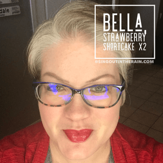 Bella LipSense, Strawberry Shortcake LipSense, LipSense Mixology