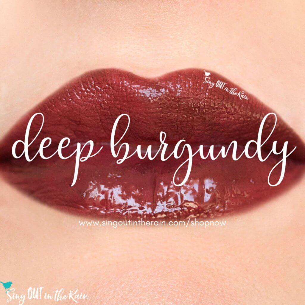 Deep Burgandy LipSense