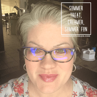 Summer treat lipsense, creamer lipsense, summer fun lipsense, lipsense mixology
