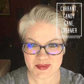 Currant LipSense, Candy Cane LipSense, Creamer LipSense, LipSense Mixology