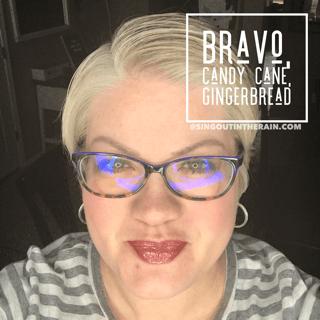 Bravo LipSense, Candy Cane LipSense, Gingerbread LipSense, LipSense Mixology