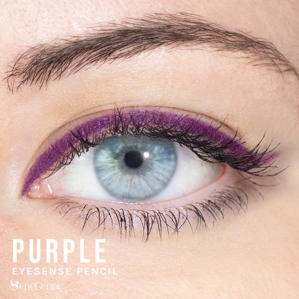 Purple Eyeliner, Purple EyeSense, Purple Eyeliner Pencil