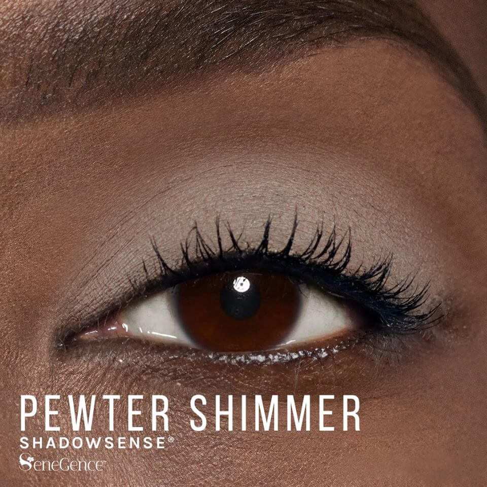 Pewter Shimmer ShadowSense, Smoky Neutrals ShadowSense, SeneGence Smoky Neutrals