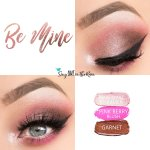 Be Mine Eye Trio, Garnet ShadowSense, Pink Opal Shimmer ShadowSense, Pink Berry Blush