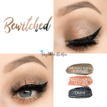 Bewitched Eye Trio, Smoked Topaz Shimmer ShadowSense, Rose Gold Shimmer ShadowSense, Onyx ShadowSense