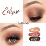 Eclipse Eye Trio, Rose Gold Shimmer ShadowSense, Bandana Shimmer ShadowSense, Rustic Brown ShadowSense