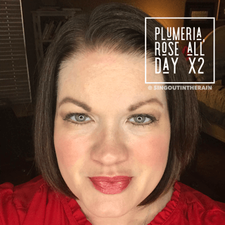 Plumeria LipSense, Rose All Day LipSense, LipSense Mixology
