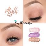 Myth Eye Trio, pink opal shimmer shadowsense, amethyst shadowsense, moca java shadowsense