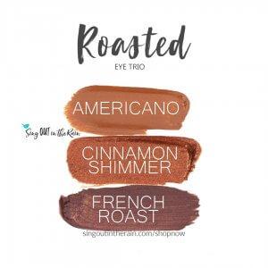 Roasted Eye Trio, Americano ShadowSense, Cinnamon Shimmer Shadowsense, french roast shadowsense