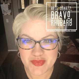 Rhubarb LipSense, LipSense Mixology, Bravo LipSense, Rose Quartz LipSense