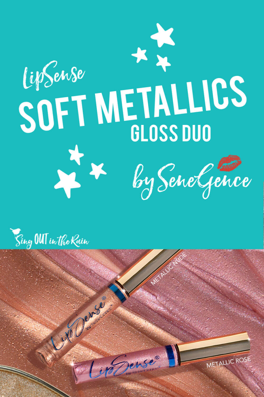 LipSense Soft Metallic Gloss Duo by SeneGence