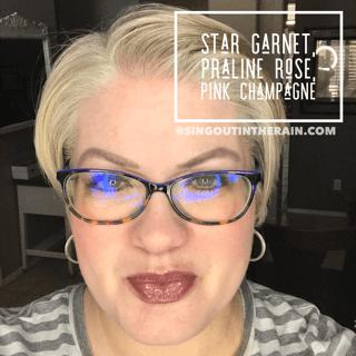 Star Garnet LipSense, Praline Rose LipSense, LipSense Mixology, Pink Champagne LipSense