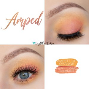 Amped Eye Duo, Fiery Coral Shimmer ShadowSense, Amped Up Orange ShadowSense