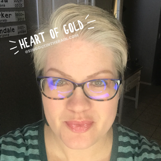 Heart of Gold LipSense