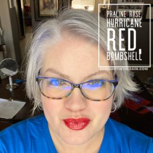 Praline Rose LipSense, Hurricane Red LipSense, Bombshell LipSense, LipSense Mixology