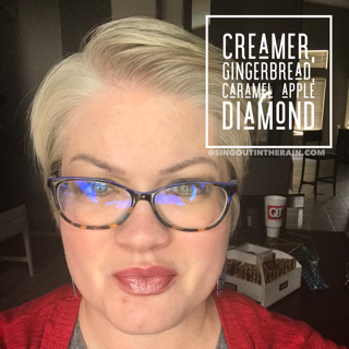 Creamer LipSense, Gingerbread LipSense, Caramel Apple Diamond LipSense, LipSense Mixology