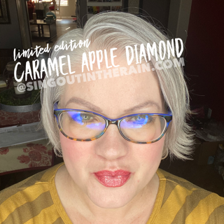 Caramel Apple Diamond LipSense, LipSense Mixology