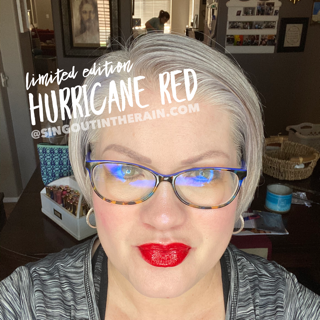 Hurricane Red LipSense
