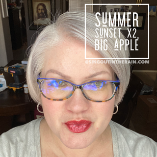 summer sunset lipsense, manhatten mauve lipsense, lipsense mixology