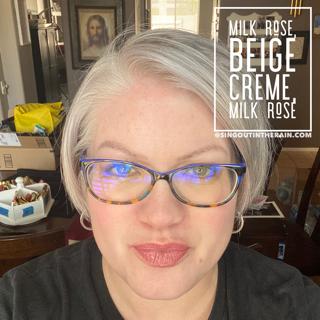 Milk Rose Lipsense, Beige Creme LipSense, LipSense Mixology