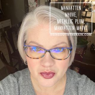 Manhatten Mauve LipSense, LipSense Mixology, Metallic Plum LipSense