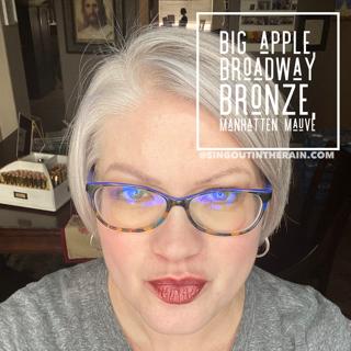 Big Apple Lipsense, LipSense Mixology, Broadway Bronze LipSense, Manhatten Mauve LipSense