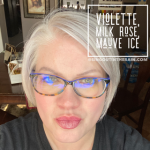 Violette LipSense, Milk Rose LipSense, Mauve Ice LipSense