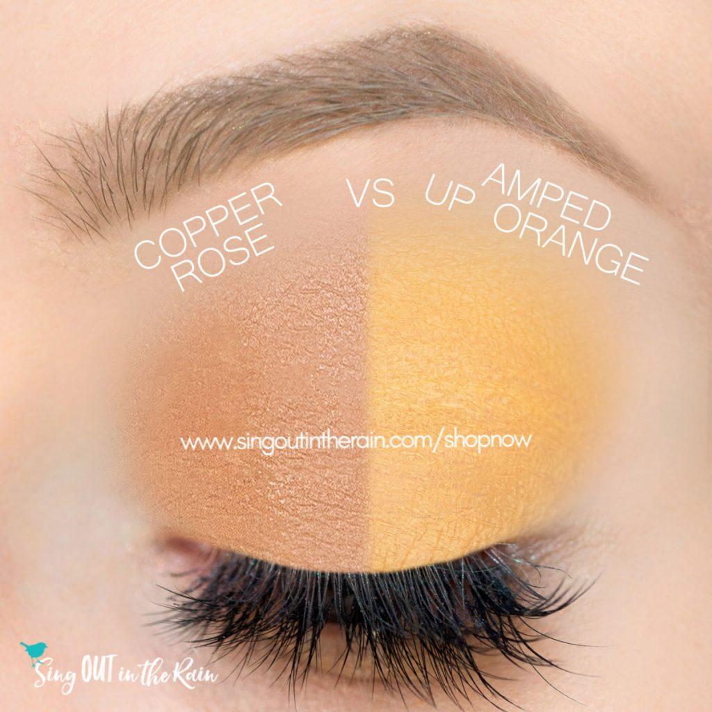 Copper Rose ShadowSense, Amped Up Orange ShadowSense