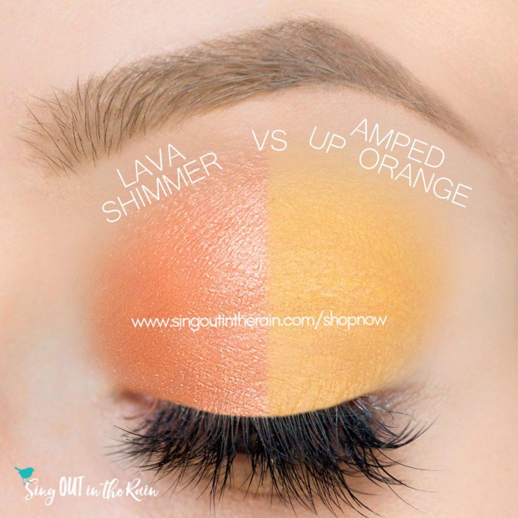 Lava Shimmer ShadowSense, Amped Up Orange ShadowSense