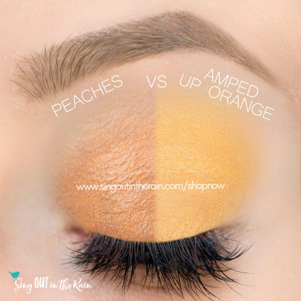 Peaches ShadowSense, Amped Up Orange ShadowSense