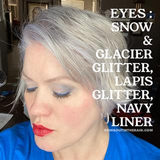 Snow ShadowSense, Glacier Glitter ShadowSense, Lapis Glitter ShadowSense