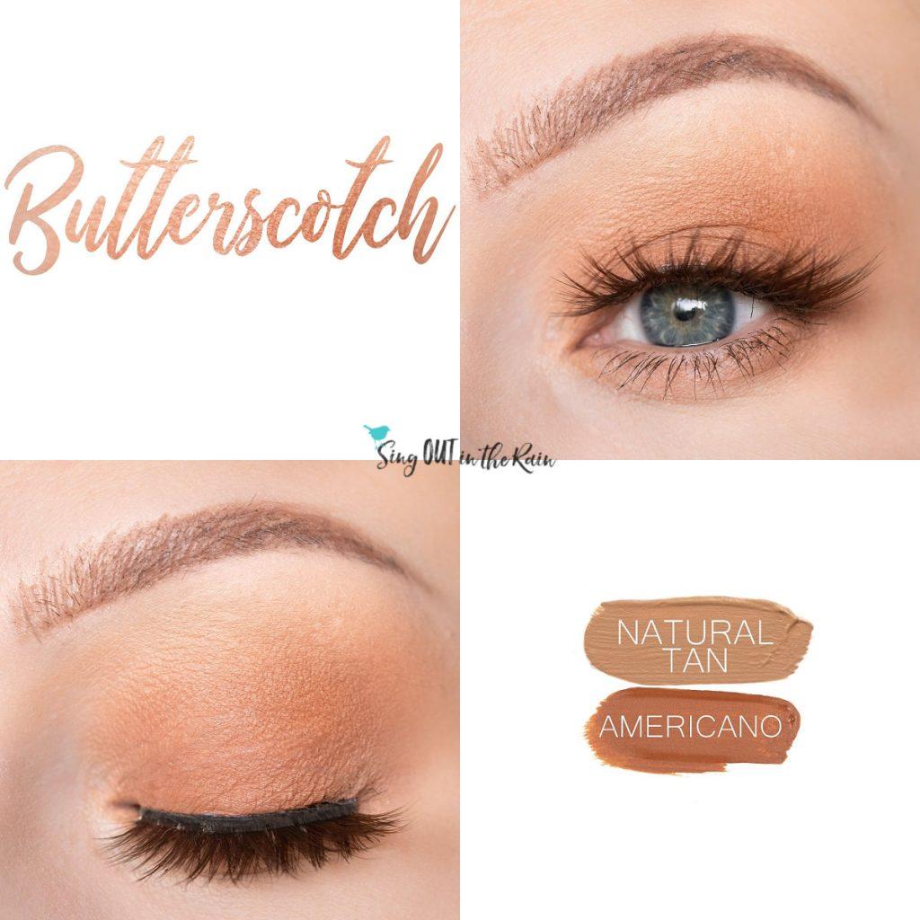 Butterscotch Eye Duo, Natural Tan ShadowSense, Americano ShadowSense