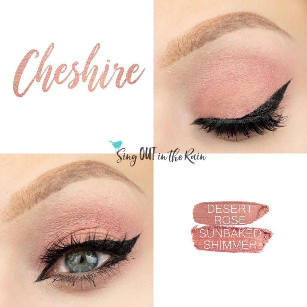 Cheshire Eye Duo, Desert Rose Shadowsense, Sunbaked Shimmer ShadowSense
