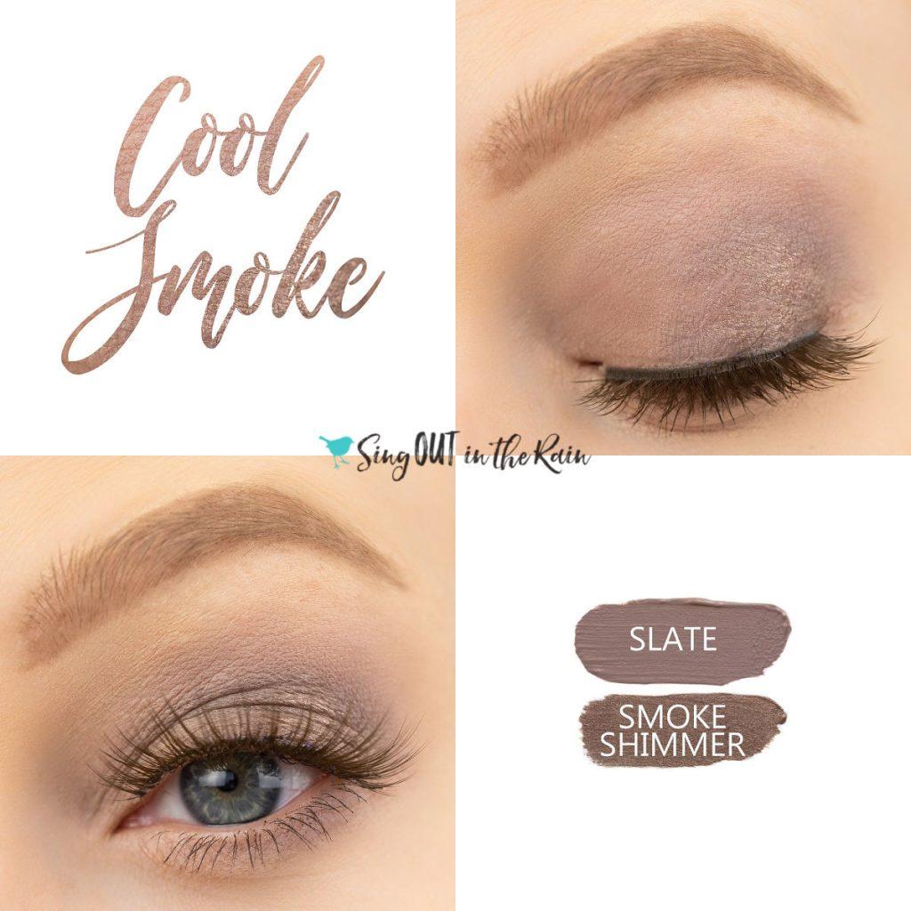 Cool Smoke Eye Duo, Smoke Shimmer ShadowSense, Slate ShadowSense