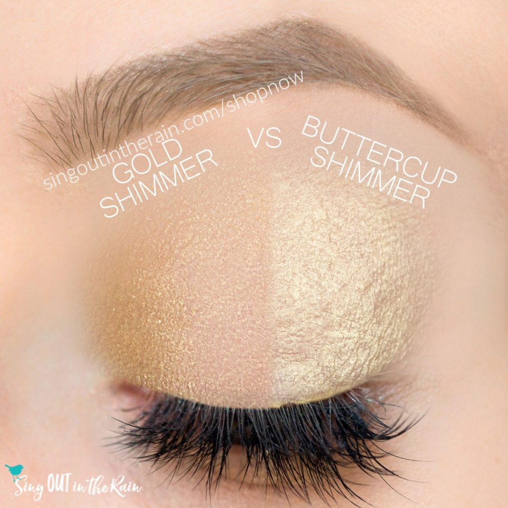 gold shimmer shadowsense, buttercup shimmer shadowsense