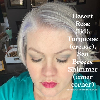 Desert Rose ShadowSense, Turquoise ShadowSense, Sea Breeze Shimmer ShadowSense