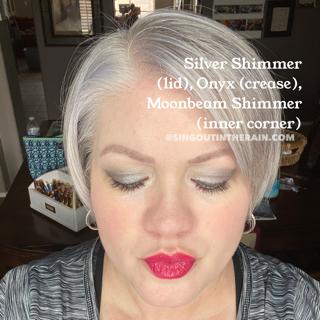 Silver Shimmer ShadowSense, Onyx ShadowSense, Moonbeam Shimmer ShadowSense