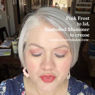 Pink Frost ShadowSense, Sunbaked Shimmer ShadowSense