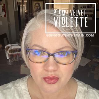 Plum LipSense, Velvet Lipense, Violette LipSense, LipSense Mixology