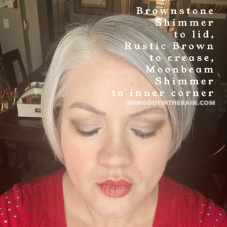 brownstone shimmer shadowsense, rustic brown shadowsense, moonbeam shimmer shadowsense