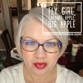 Fly Girl LipSense, Big Apple LipSense, LipSense Mixology, Caramel Apple LipSense