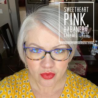 Sweetheart Pink LipSense, Lipsense Mixology, Caramel Latte LipSense, Habanero LipSense