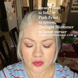 desert rose shadowsense, pink frost shadowsense, twilight shimmer shadowsense