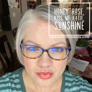 Honey Rose LipSense, LipSense Mixology, Kiss Me Katie LipSense, Sunshine LipSense