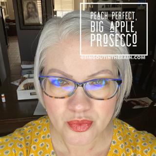 Peach Perfect LipSense, Big Apple LipSense, Prosecco LipSense, Lipsense Mixology