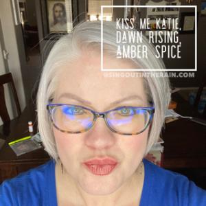 Kiss Me Katie LipSense, Dawn Rising LipSense, Amber Spice LipSense, LIpsense Mixology