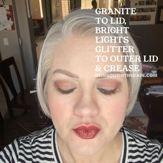 granite ShadowSense, Bright Lights Glitter ShadowSense