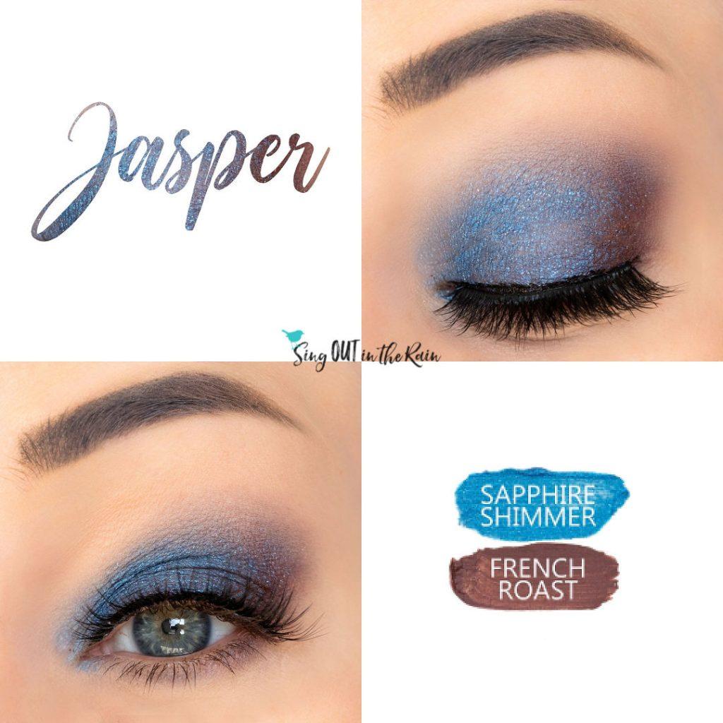 sapphire Shimmer ShadowSense, French Roast ShadowSense, Jasper Eye Duo