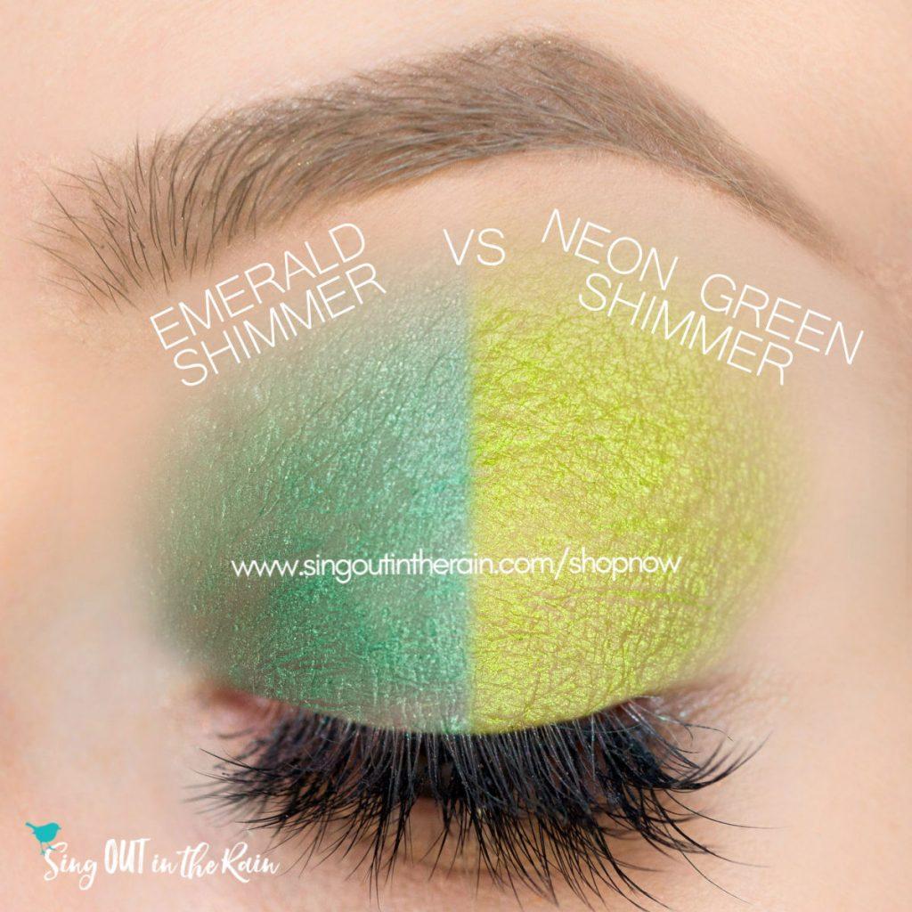 Emerald Shimmer ShadowSense, Neon Green ShadowSense