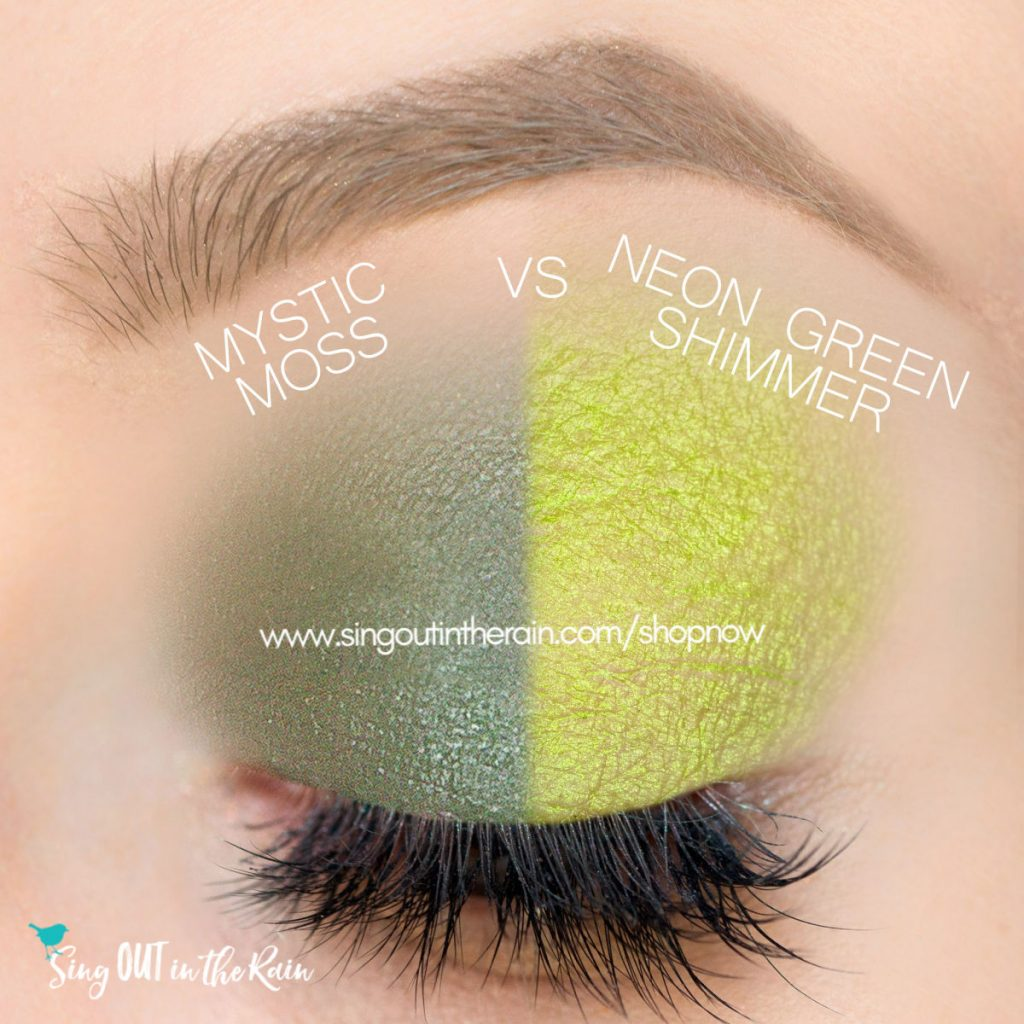 Mystic Moss Shadowsense, Neon Green Shimmer ShadowSense